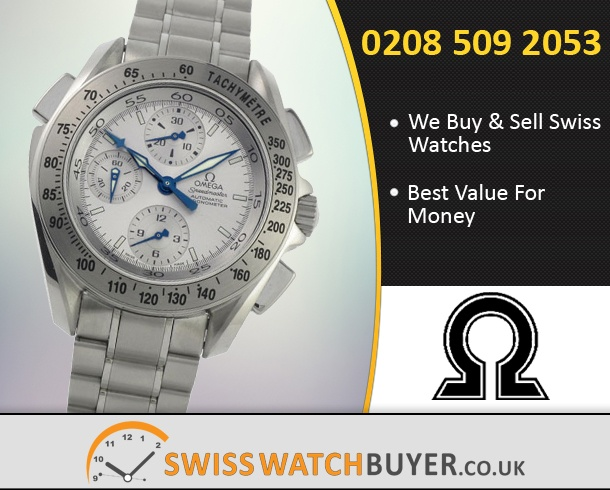 Sell Your OMEGA Speedmaster Split Seconds Watches