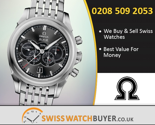 Buy or Sell OMEGA De Ville 4 Counters Chrono Watches