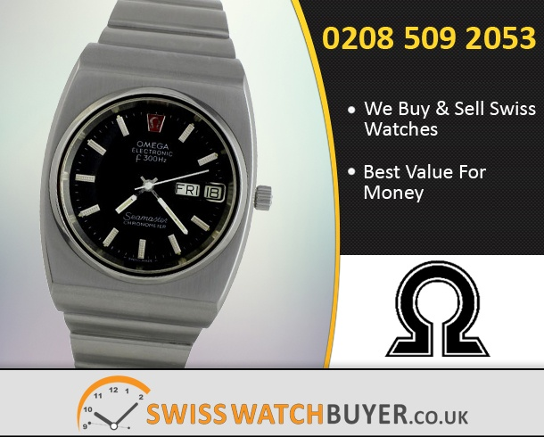 Buy OMEGA Electronic Watches