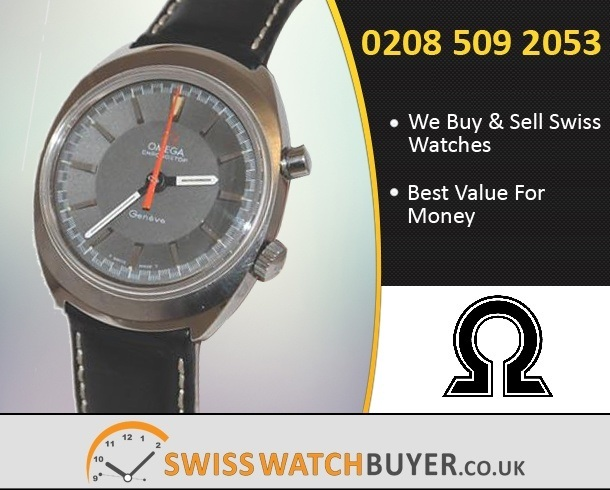 Sell Your OMEGA Seamaster Chronostop Watches