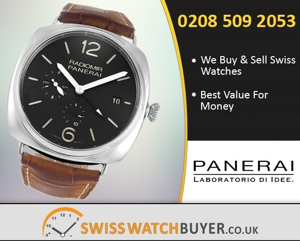 Sell Your Officine Panerai Radiomir 10 Days GMT Watches