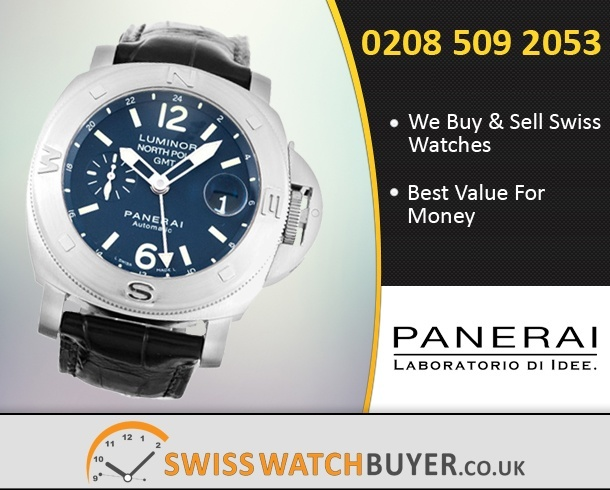 Sell Your Officine Panerai Luminor GMT Watches