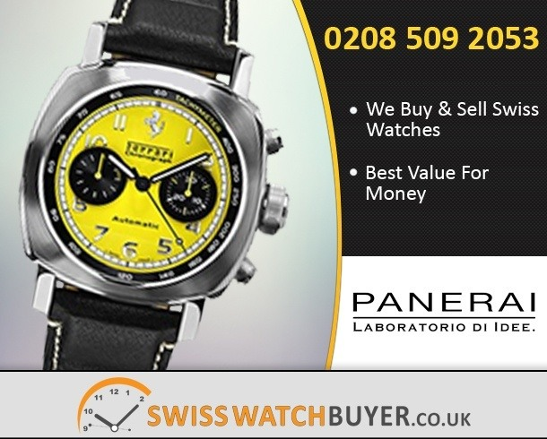 Sell Your Officine Panerai Ferrari Watches
