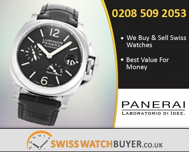 Value Officine Panerai Luminor Power Reserve Watches