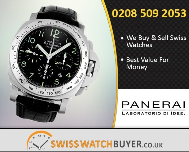 Sell Your Officine Panerai Luminor Chrono Watches