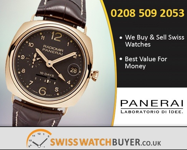 Sell Your Officine Panerai Radiomir Automatic Watches