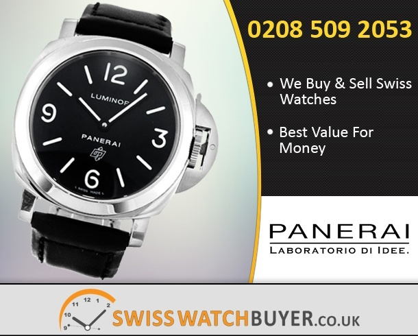 Sell Your Officine Panerai Luminor Base Watches