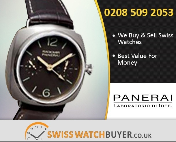 Sell Your Officine Panerai Manifattura Radiomir Watches
