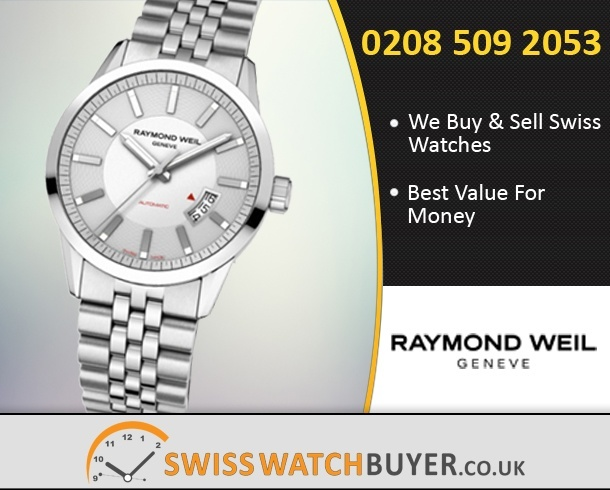 Sell Your Raymond Weil Freelancer Watches