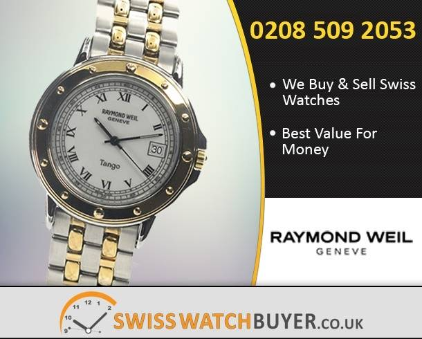 Sell Your Raymond Weil Tango Watches