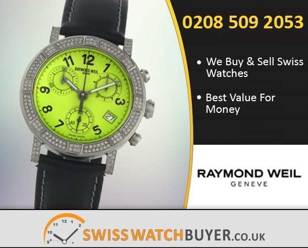 Buy Raymond Weil W1 Chronograph Watches