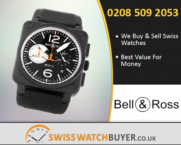 Buy or Sell Bell and Ross BR03-94 Chronograph Watches