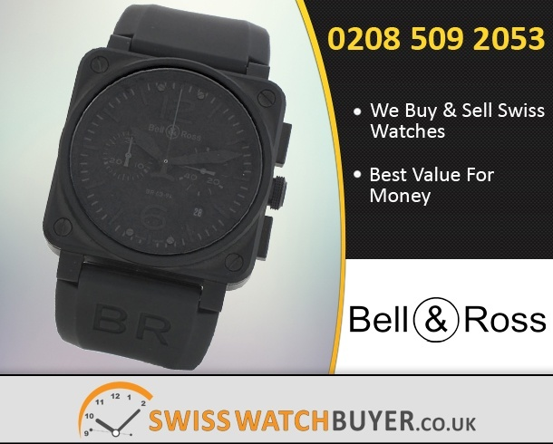 Sell Your Bell and Ross BR03-94 Chronograph Watches