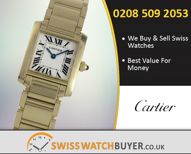 Sell Your Cartier Tank Francaise Watches
