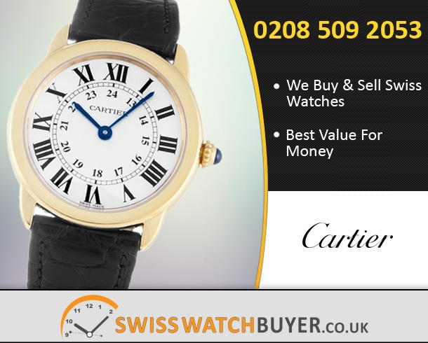 Buy Cartier Ronde Solo Watches