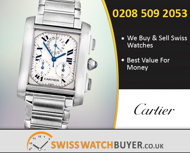 Sell Your Cartier Chronoflex Watches