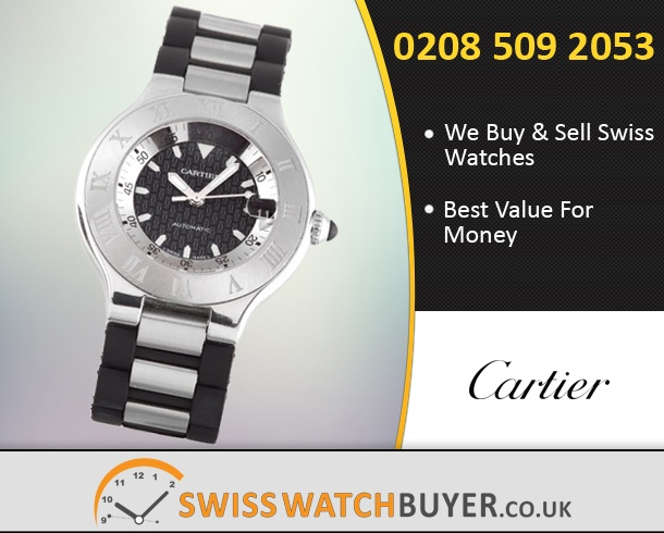Sell Your Cartier Must 21 Watches