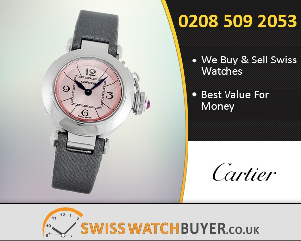 Sell Your Cartier Pasha Watches