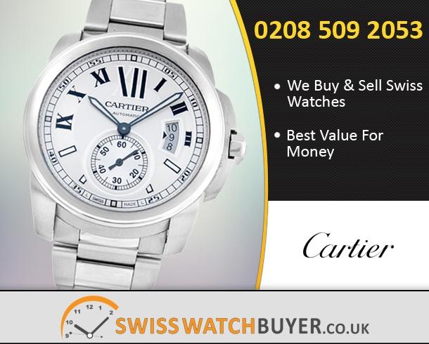 Sell Your Cartier Calibre de Watches