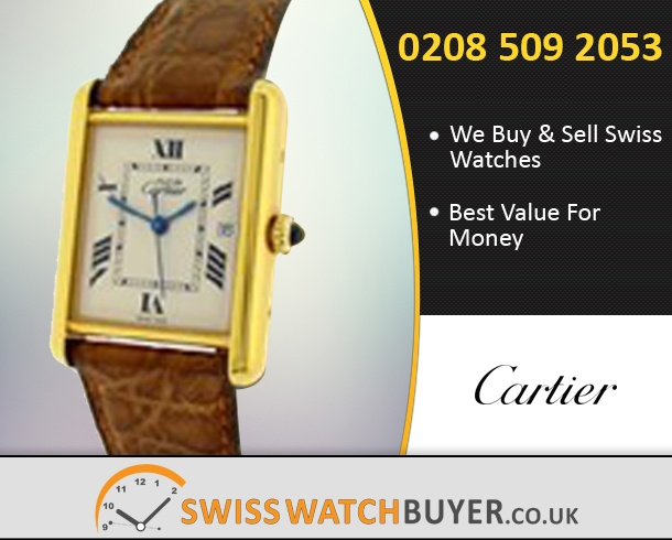 Sell Your Cartier Must Watches