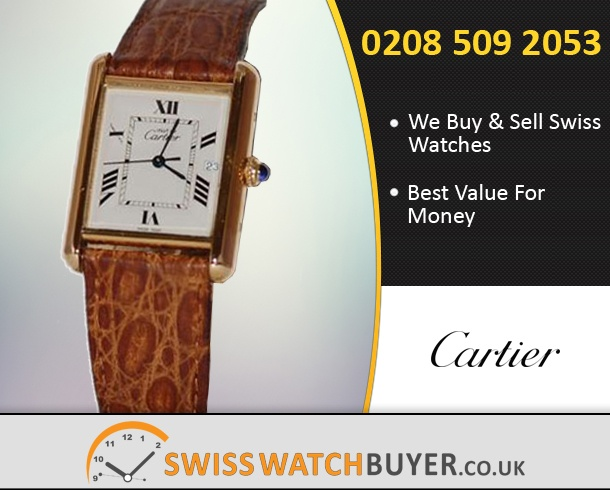 Buy or Sell Cartier Tank Vermeill Watches