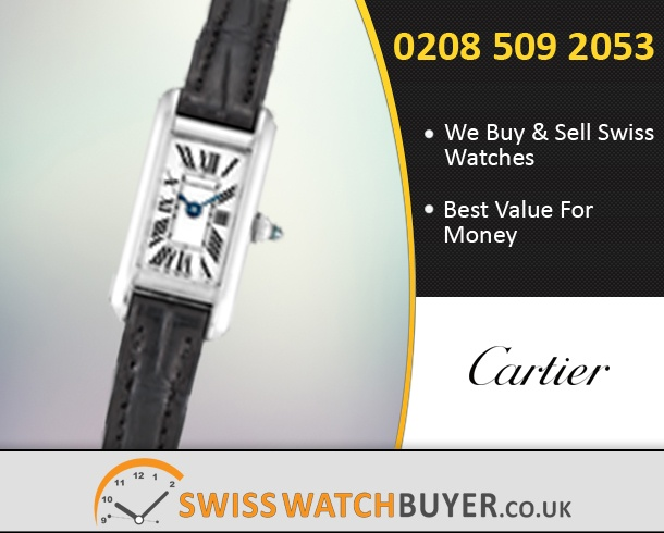 Sell Your Cartier Tank Allongee Watches