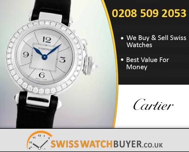 Buy Cartier Miss Pasha Watches
