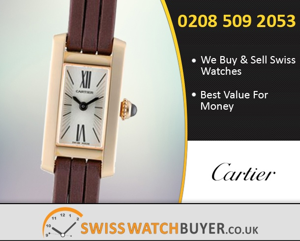 Sell Your Cartier Lanieres Tank Allongee Watches