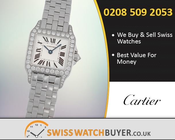 Value Cartier Santos Demoiselle Watches