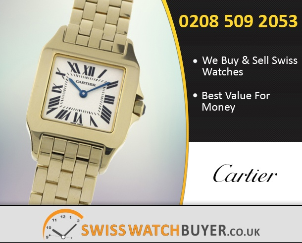 Sell Your Cartier Santos Demoiselle Watches