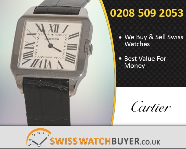 Sell Your Cartier Santos Dumont Watches