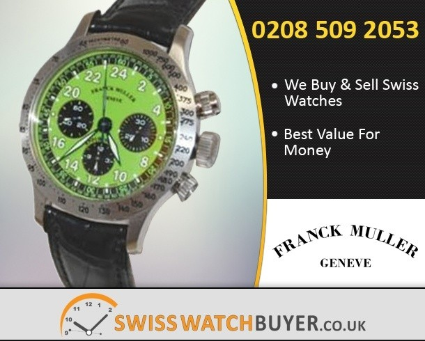 Sell Your Franck Muller Endurance 24 Watches