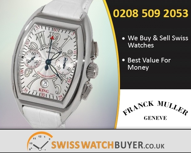 Sell Your Franck Muller King Conquistador Watches