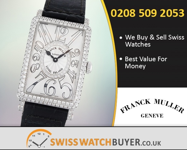 Sell Your Franck Muller Long Island Watches