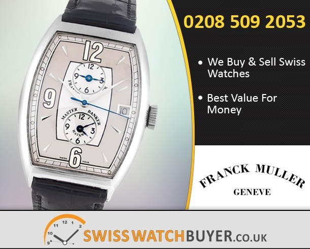 Sell Your Franck Muller Master Banker Watches