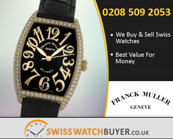 Sell Your Franck Muller Sunset Watches