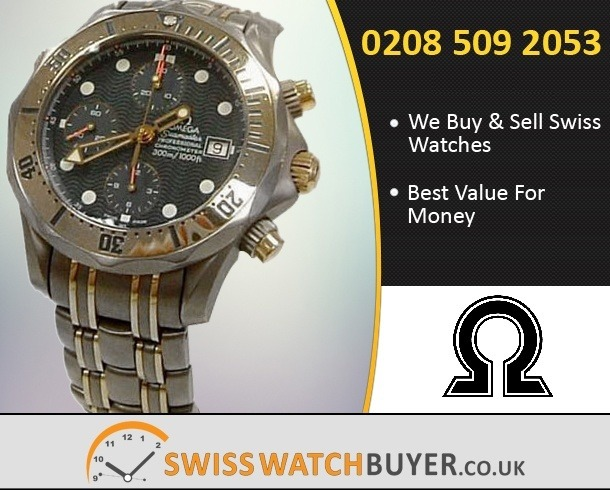 Buy OMEGA Seamaster Chrono Diver Watches