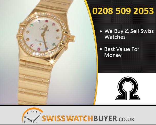 Buy OMEGA Constellation Iris My Choice Watches