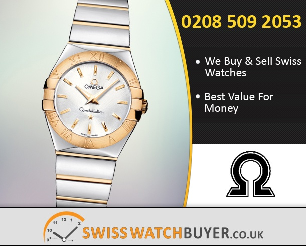 Buy OMEGA Constellation Small Watches