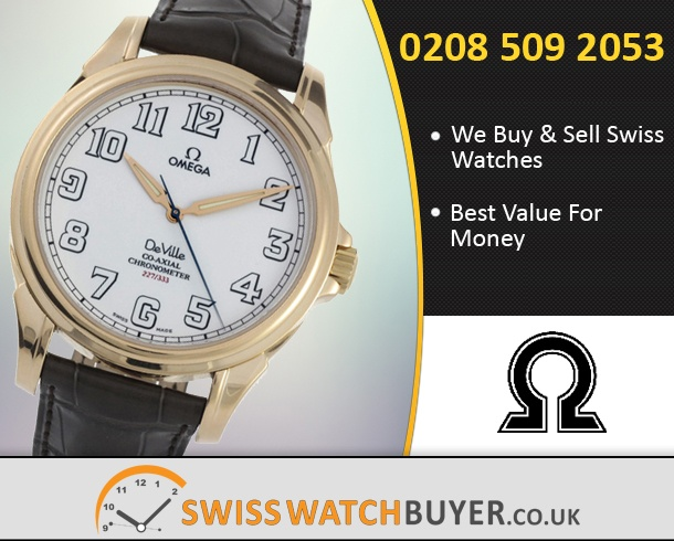Buy or Sell OMEGA De Ville Co-Axial Watches