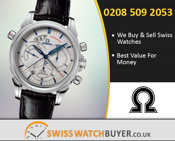 Buy OMEGA De Ville Co-Axial Rattrapante Watches