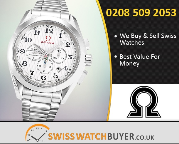 Sell Your OMEGA Olympic Aqua Terra Watches