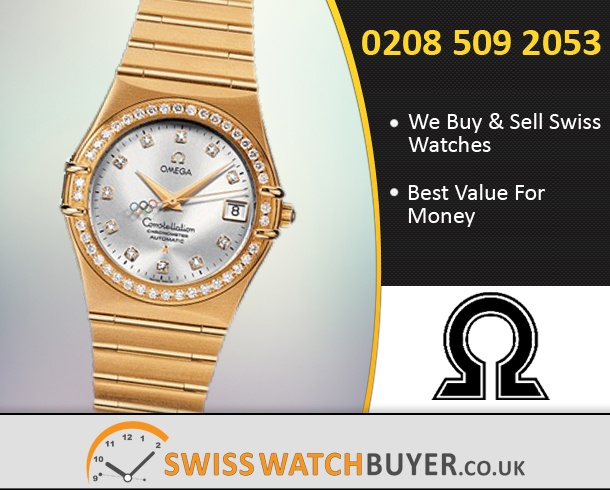 Sell Your OMEGA Olympic Constellation Watches