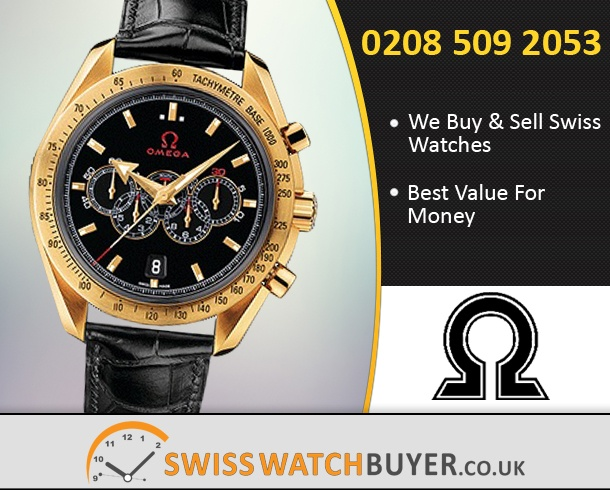 Sell Your OMEGA Olympic Speedmaster Watches