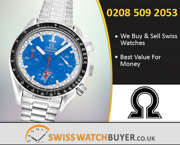 Sell Your OMEGA Speedmaster Ex Cart Watches