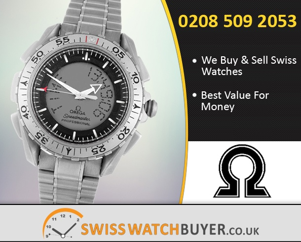 Sell Your OMEGA Speedmaster X-33 Watches