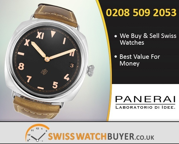 Sell Your Officine Panerai Radiomir California 3 Days Watches