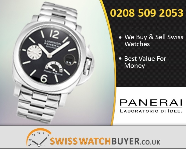 Sell Your Officine Panerai Luminor Power Reserve Watches