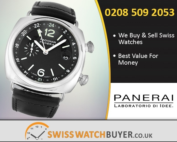 Sell Your Officine Panerai Radiomir GMT Watches