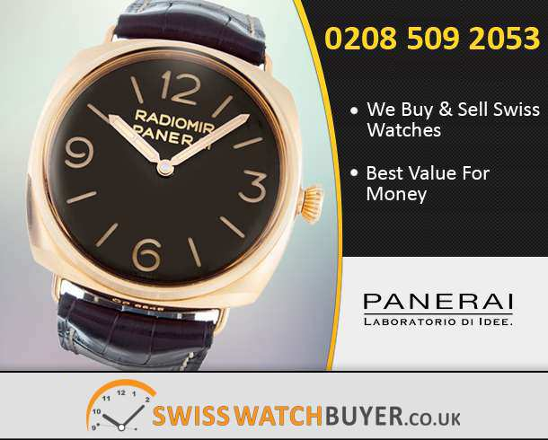 Sell Your Officine Panerai Watches